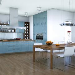 Gray Kitchen Chairs Cabinets 灰色色调的时尚厨房 高清图片 壁纸 酷酷桌面