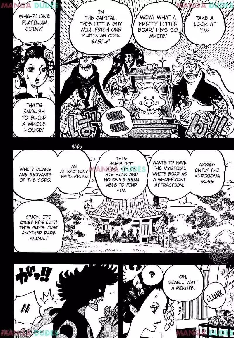 One Piece Scan 960 : piece, Piece, Chapter, Kozuki, Appears