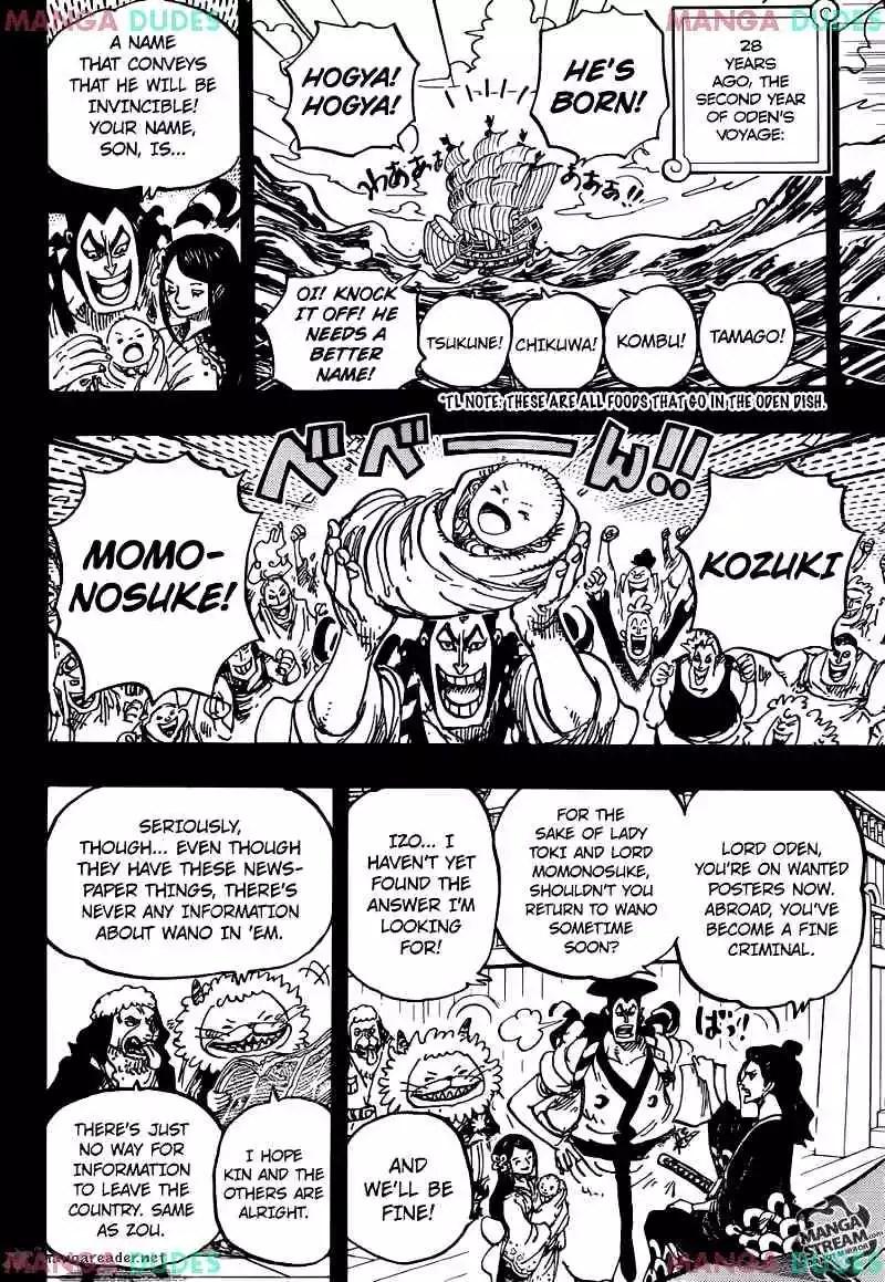 One Piece Chapter 965 : piece, chapter, Piece, Chapter, Kurozumi