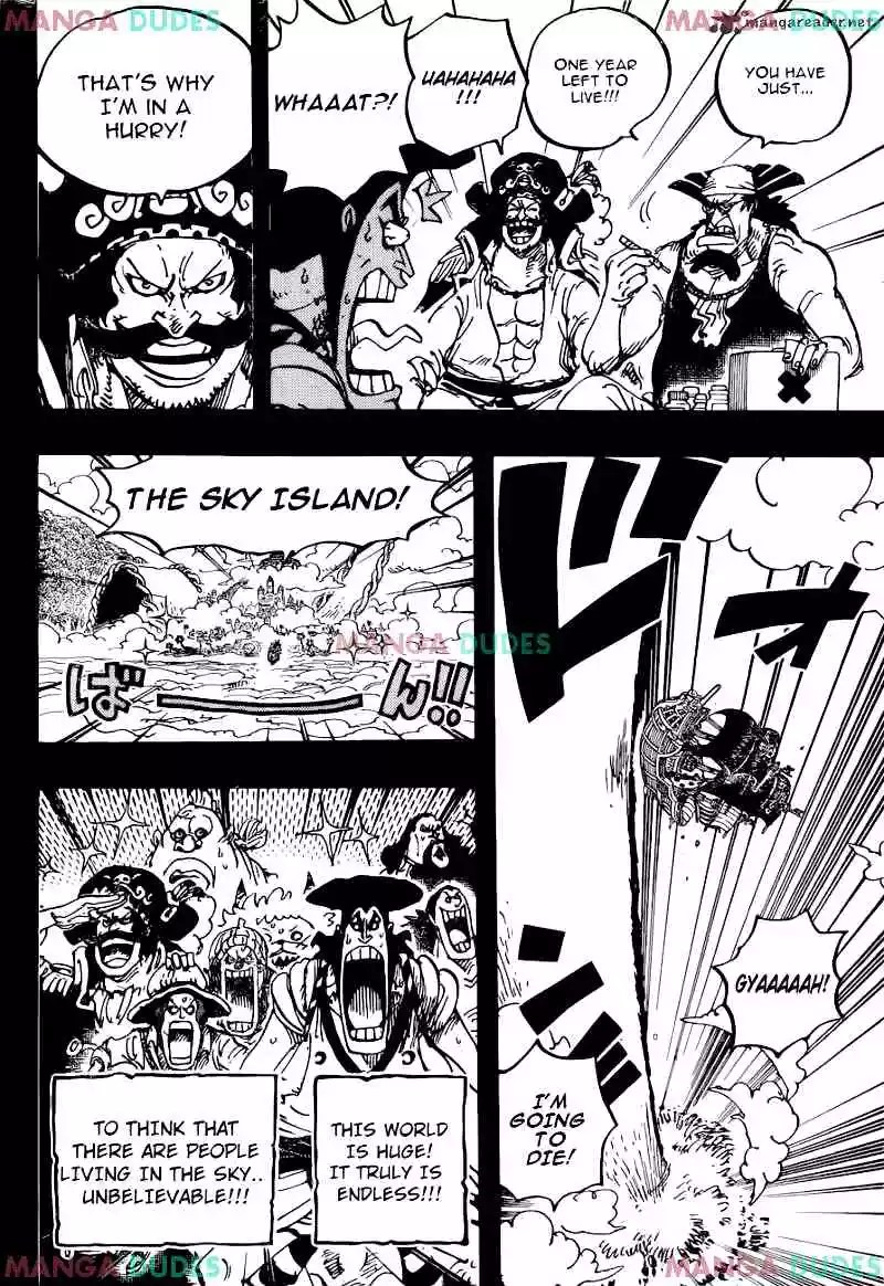 One Piece Scan 966 : piece, Piece, Chapter, Roger, Whitebeard