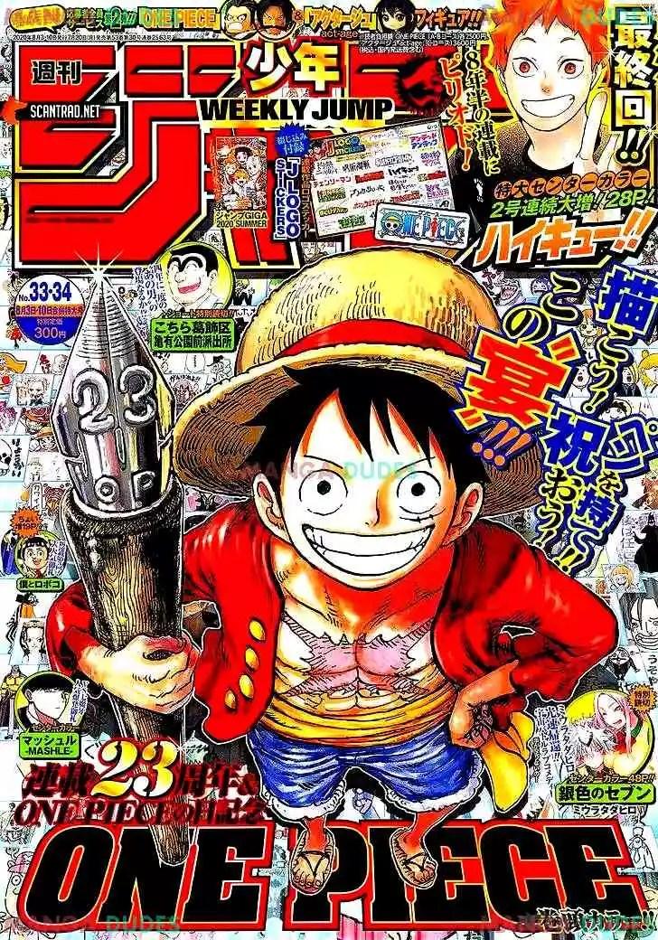 Read One Piece 985 : piece, Piece, Chapter, Onigashima
