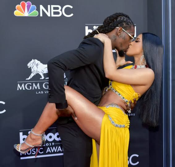 MUST WATCH: CARDI B ACCIDENTALLY EXPOSING BOOBS WHILE TAKING PICTURE FOR OFFSET