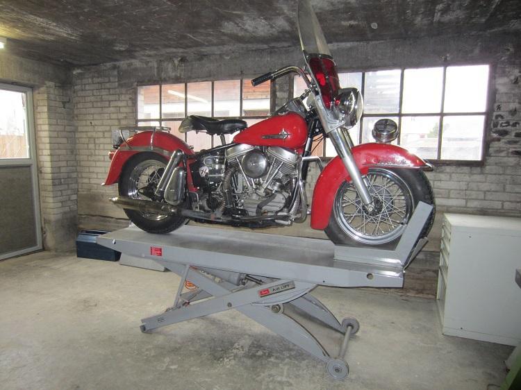 Motorradhebebhne gebraucht kaufen  Hydraulic actuators