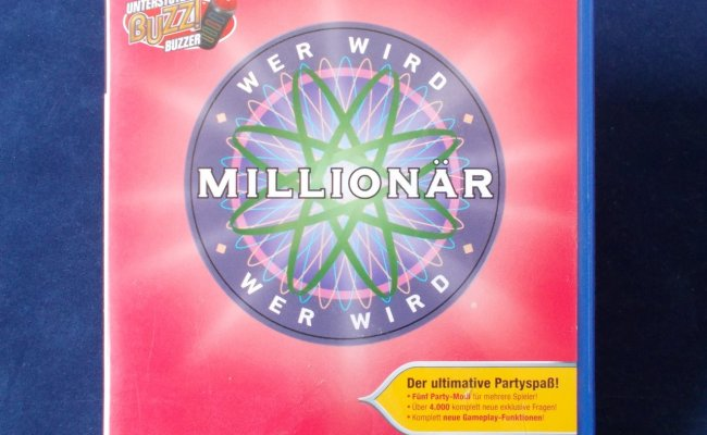 Ps2 Playstation Wer Wird Millionär Party Edition Dt Version