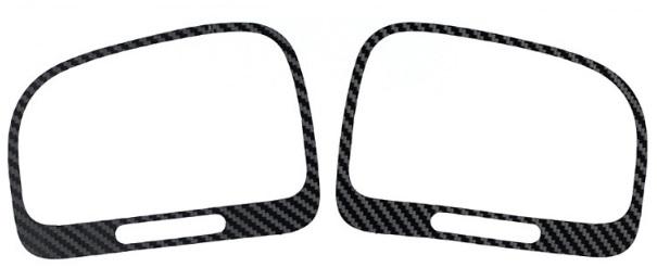VW Volkswagen Golf 6 VI Lüftungs Carbon Fiber Sticker