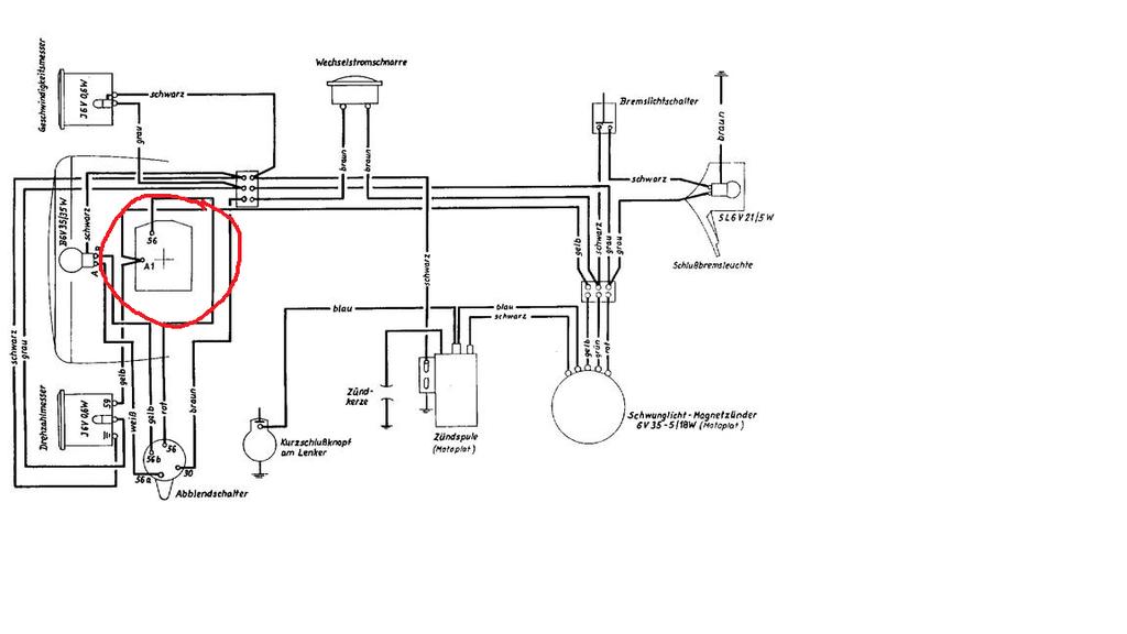 Peugeot Roller Schaltplan