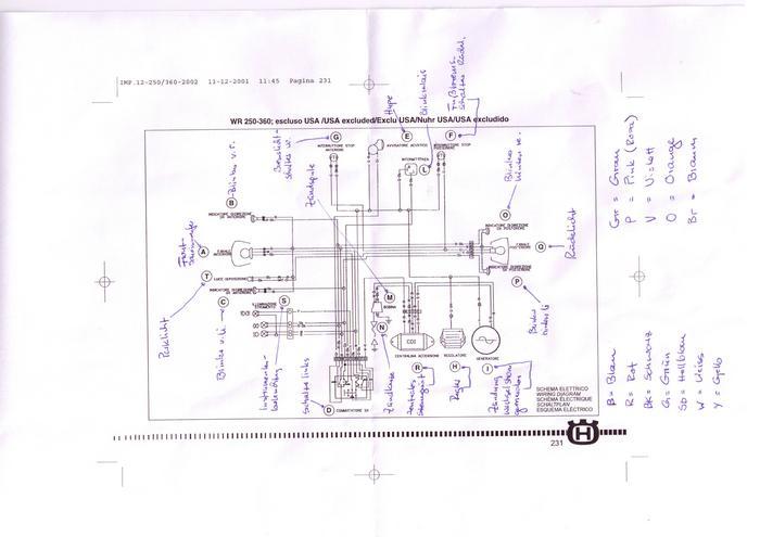 Suche Schaltplan für WR 250 BJ 98, oder 360 / 125