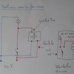 Ceiling Fan Wiring Diagram Separate Switches For Bathroom With Timer Exhaust Light Harbor Breeze Parts ...
