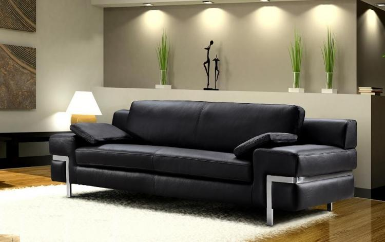contemporary sofa designs for living room knightsbridge luxury faux leather bed with storage ottoman unit ديكورات مودرن لغرف المعيشة بروائع الابيض و الاسود البنى ...