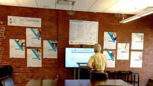 NaviNet User Experience Wall