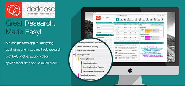 Dedoose Content Analysis Rich Web Application Design Daniel