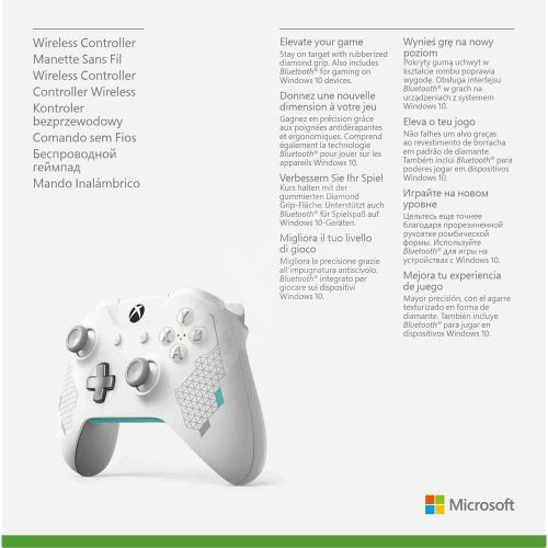 Microsoft Xbox One S Wireless Controller with Bluetooth