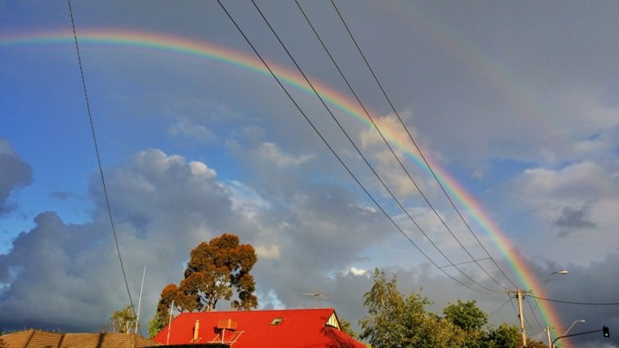 Amo arco-íris!