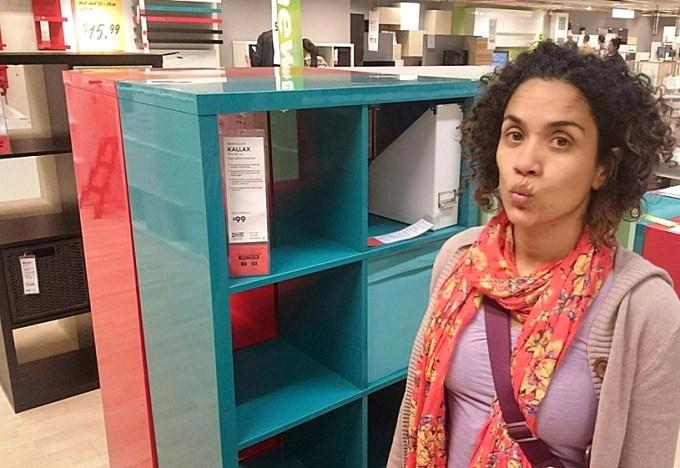 Comprando coisinhas pro canto novo na IKEA: amo de paixão! Outubro 2014