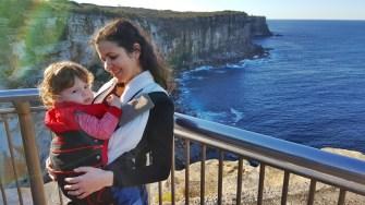 A comadre Sandra Rosa e nosso afilhadinho Joshua também já nos visitaram aqui em Sydney.