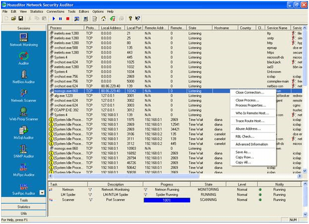 Nsauditor Network Security Auditor 3.1.7.0 With Crack