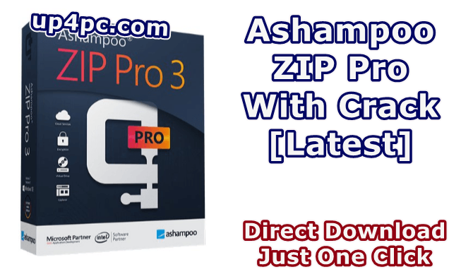 Ashampoo ZIP Pro 3.0.26 With Crack [Latest]