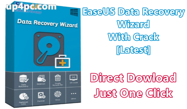 EaseUS Data Recovery Wizard 13.0 With Crack [Latest]
