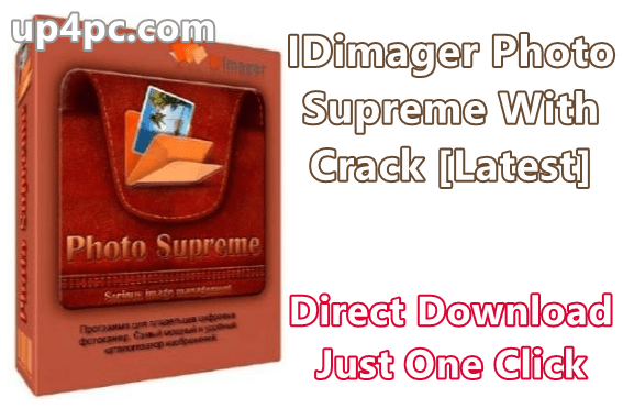 IDimager Photo Supreme 5.1.2.2487 With Crack [Latest]