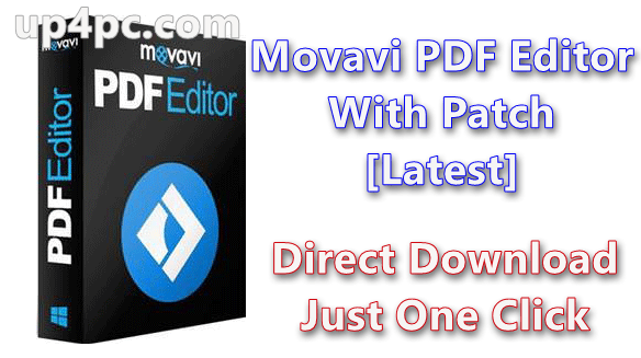 Movavi PDF Editor 2.4.1 With Patch [Latest]