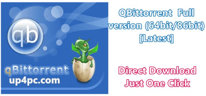 QBittorrent 4.1.9.1 Full version (64bit/86bit) [Latest]