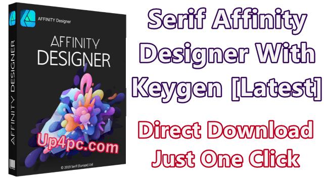 Serif Affinity Designer 1.8.0.514 With Keygen [Latest]