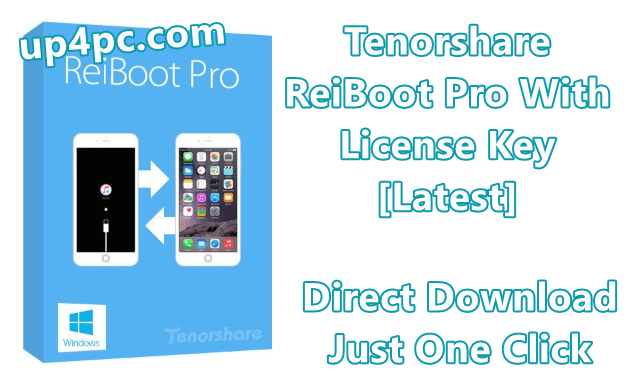 Tenorshare ReiBoot Pro 7.3.4.7 With License Key [Latest]