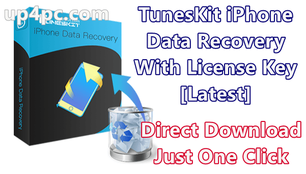 TunesKit iPhone Data Recovery 2.3.0.27 With License Key [Latest]