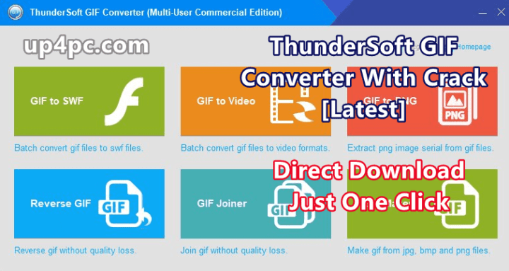 ThunderSoft GIF Converter 2.9.5.0 With Crack [Latest]