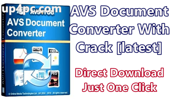 AVS Document Converter 4.2.3.268 With Crack [latest]