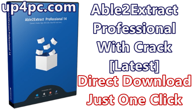 Able2Extract Professional 14.0.12.0 With Crack [Latest]