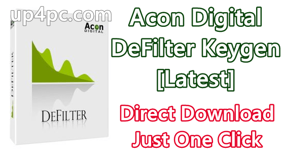 Acon Digital DeFilter 1.1.4 Free Download Keygen [Latest]