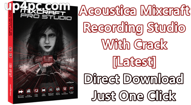 Acoustica Mixcraft Recording Studio 9.0 Build 436 With Crack [Latest]