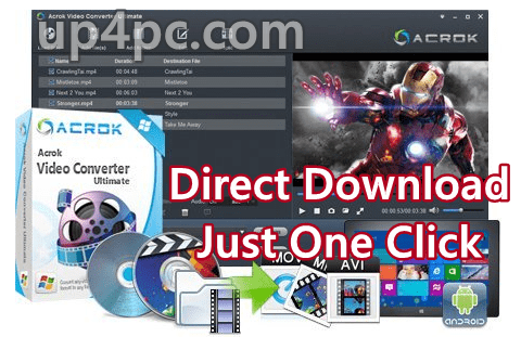 Acrok Video Converter Ultimate 6.7.104.1421 With Crack [Latest]
