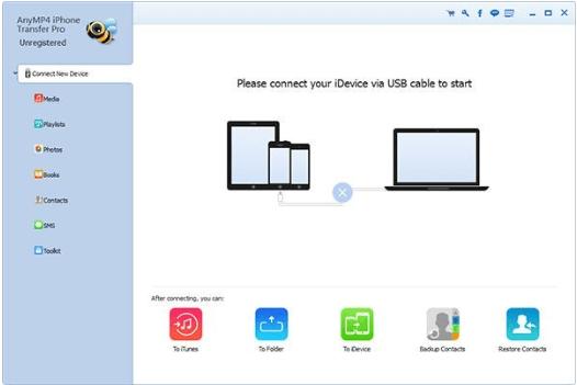 AnyMP4 iPhone Transfer Pro Registration Key