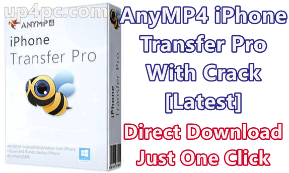 AnyMP4 iPhone Transfer Pro 9.1.12 With Crack [Latest]