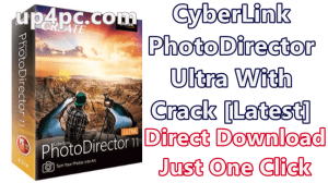 CyberLink PhotoDirector Ultra 11.0.2516.0 With Crack [Latest] 1