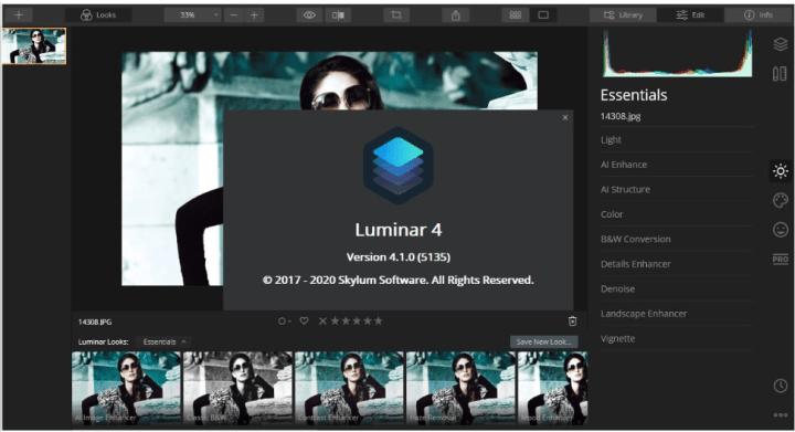 Luminar 4.1.0.5135