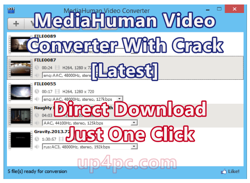 MediaHuman Video Converter 1.2.1.0 With Crack [Latest]