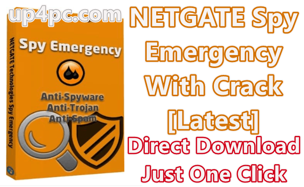 NETGATE Spy Emergency 2019 25.0.650 With Crack [Latest]