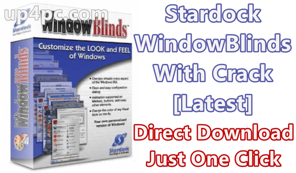 Stardock WindowBlinds 10.83 With Crack [Latest]
