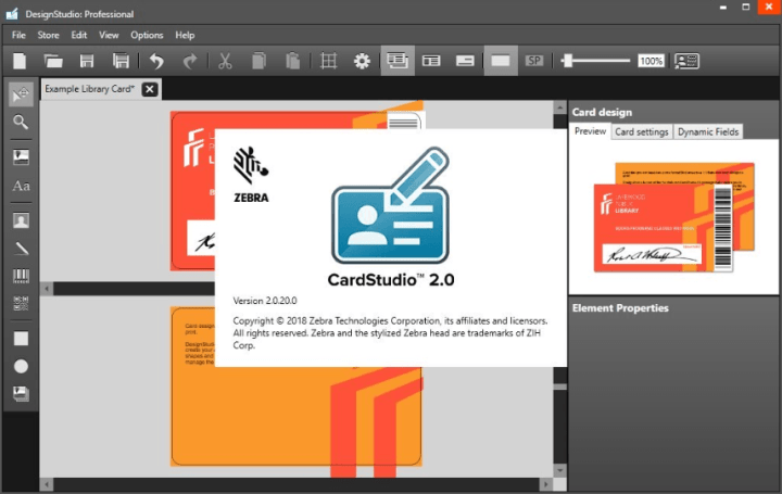 Zebra CardStudio Professional 2.0.20.0 Activation Key [Latest]