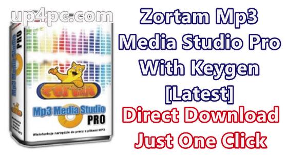 Zortam Mp3 Media Studio Pro 25.75 With Keygen [Latest]
