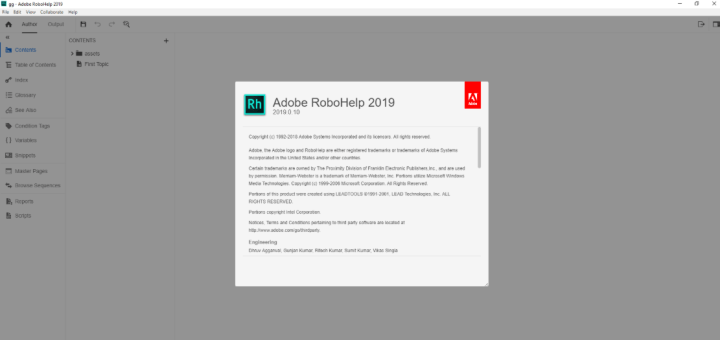 Adobe RoboHelp 2019.0.10 With Crack [Latest]