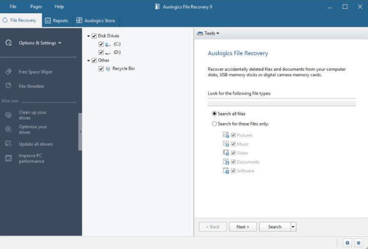 Auslogics File Recovery Professional 9.2.0.4 Full Version