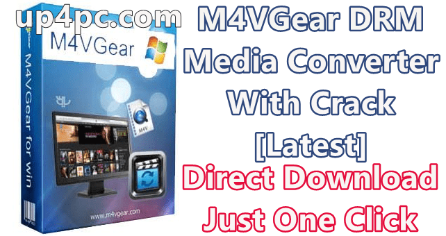 M4Vgear Drm Media Converter 5.5.8 With Crack [Latest]