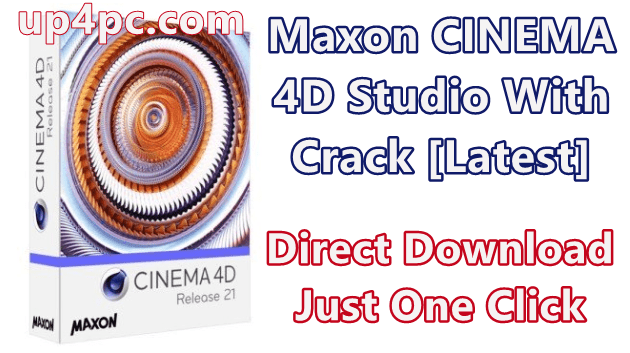 Maxon CINEMA 4D Studio R21.115 With Crack [Latest]