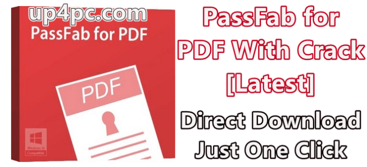 PassFab for PDF 8.2.0.7 With Crack [Latest] 1