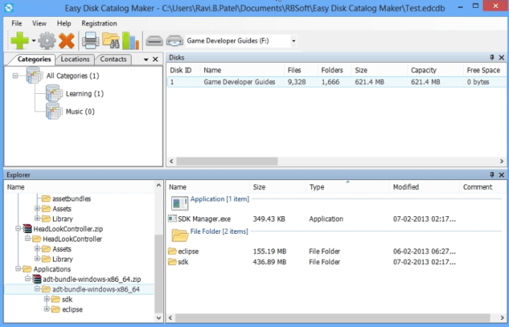 Easy Disk Catalog Maker 1.5.0.0 Activation Key