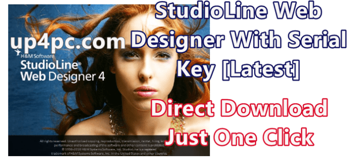 StudioLine Web Designer 4.2.50 With Serial Key [Latest]